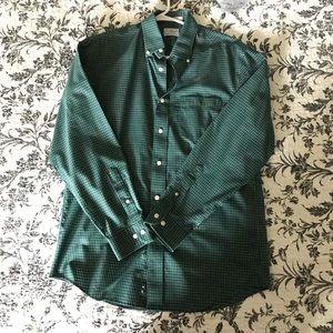 Dark green L. L. Bean button down